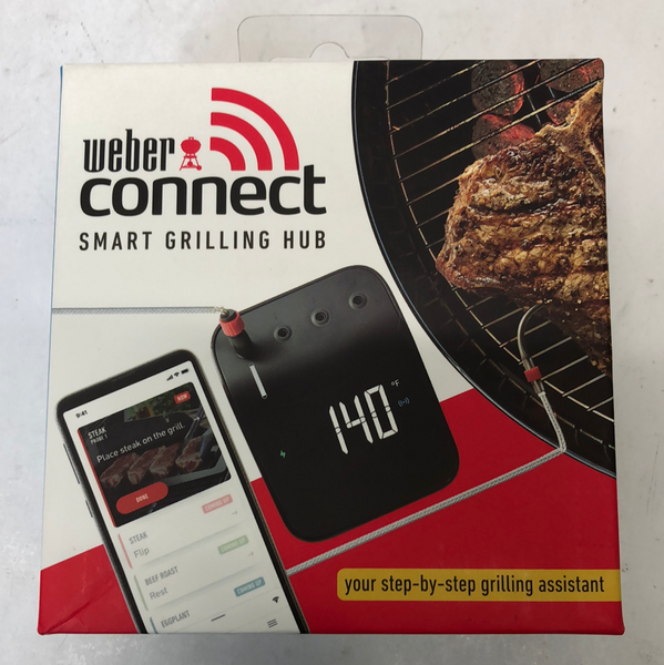 New Weber Snap Check Digital WiFi Enabled Bluetooth Enabled Grill/Meat Thermometer