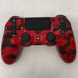 Sony PlayStation 4 Red Camo Dualshock 4 Wireless controller CUH-ZCT2U