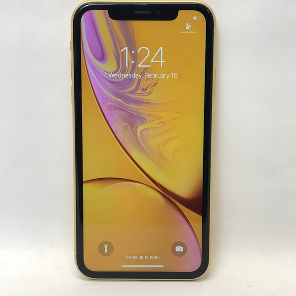 Unlocked Apple iPhone XR 64GB Yellow NT332LL/A A1984