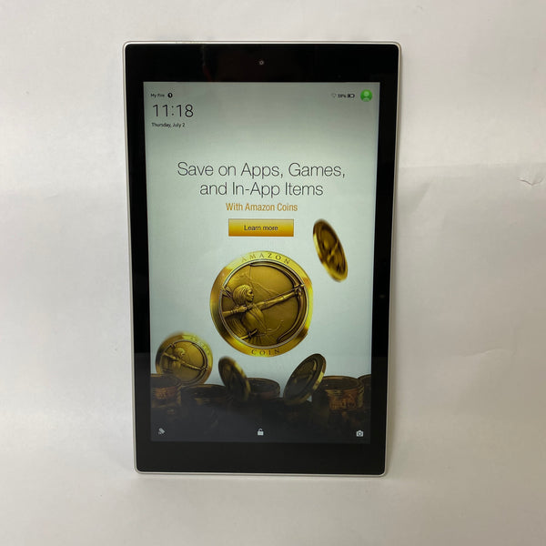 "Amazon Kindle HD 10"" 5th Gen - 16GB - Black/Silver"