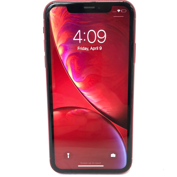 AT&T Apple iPhone XR 64GB Red A1984 MT3M2LL/A