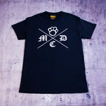 MDC Cross Tee Black/White