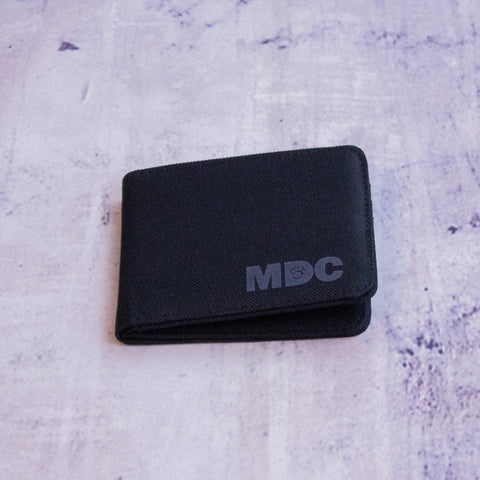 MDC Wallet Black/Charcoal