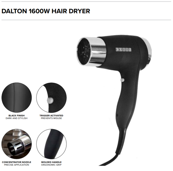 Dalton 1600W Hair Dryer