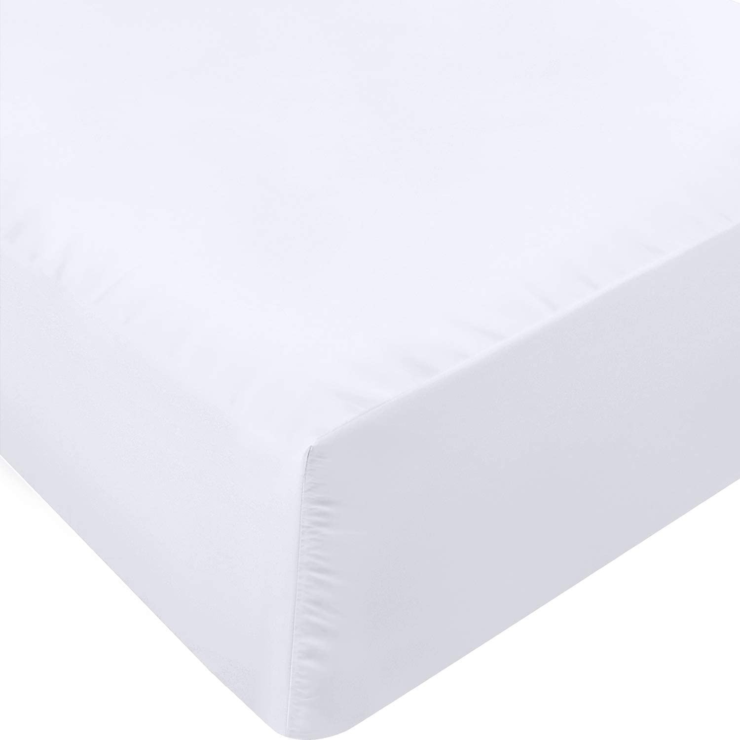 250TC Sateen 100% Cotton Fitted Sheet (Pack of 6 Units)