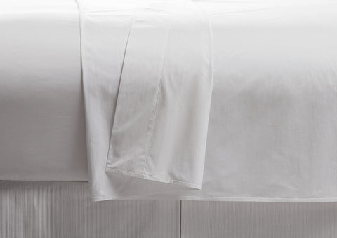 200TC Percale 100% Cotton Flat Sheet (Pack of 6 units)