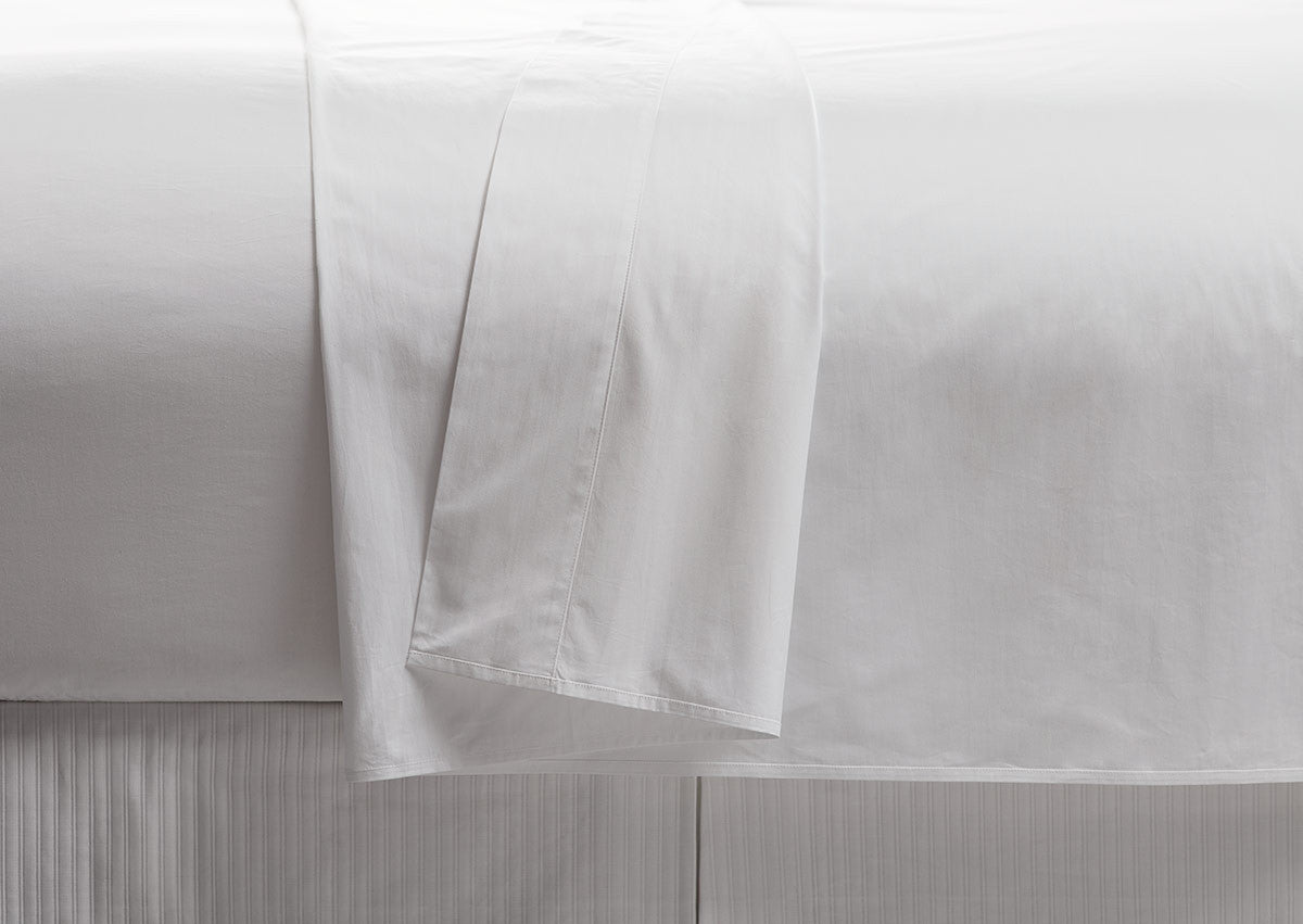 250TC Sateen 100% Cotton Flat Sheet (Pack of 6 units)
