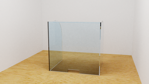 Fully Enclosed Acrylic Shield