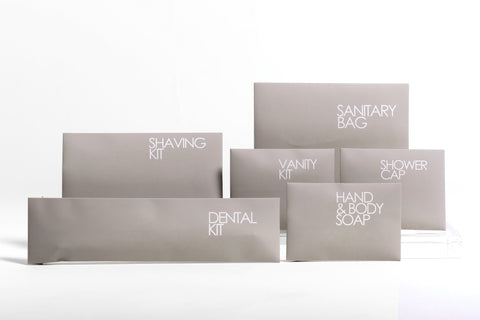 Biodegradable Vanity Kit (Pack of 5,000 Units)