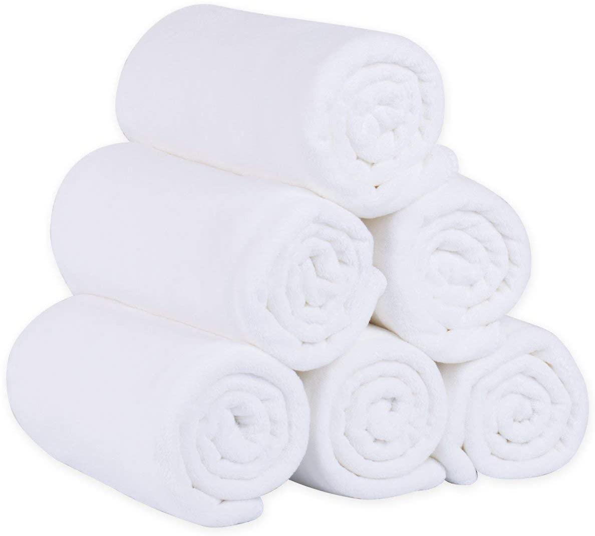 White Hand Towel 18x30 180g  (Pack of 12 Units)
