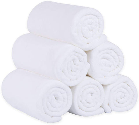 White Hand Towel 21x32 208g  (Pack of 12 Units)
