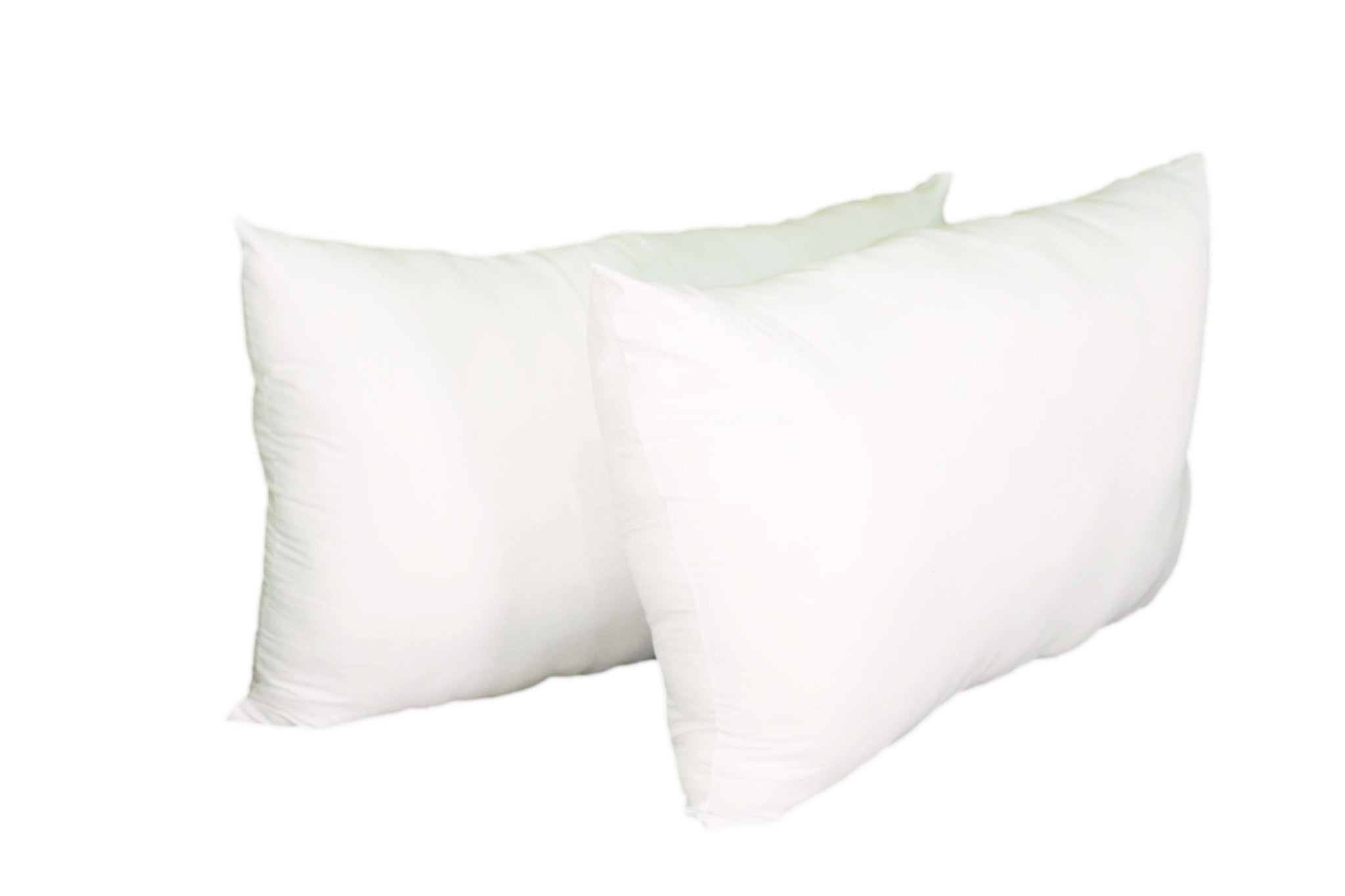 Plain White Down Alternative Pillow
