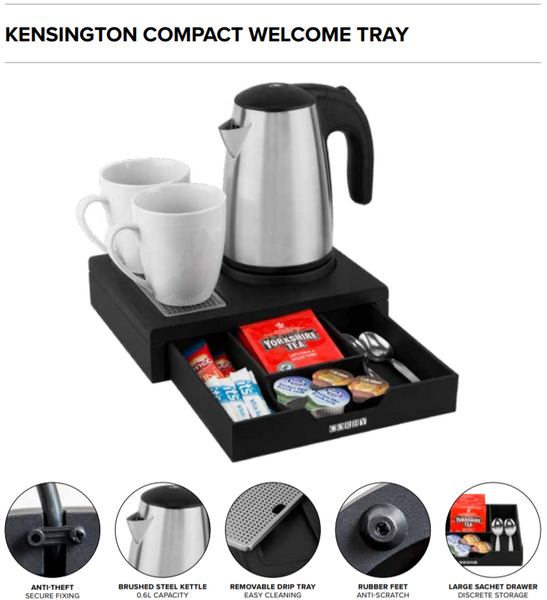Kensington Compact Welcome Tray