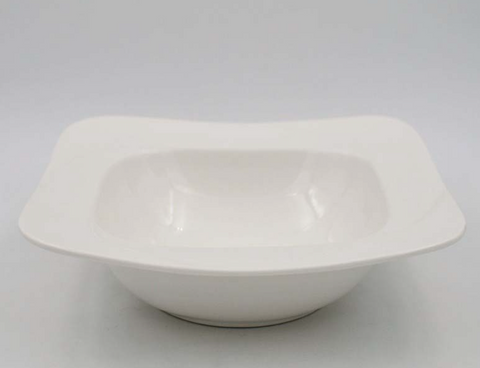 "Square Shape Soup Bowl 8""/9"""