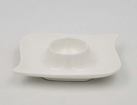 Square Shape Egg Plate 5""