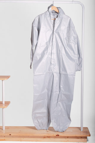 PPE Coverall Tafetta Silverback Lining with Shoe Cover (Pack of 10 Units)