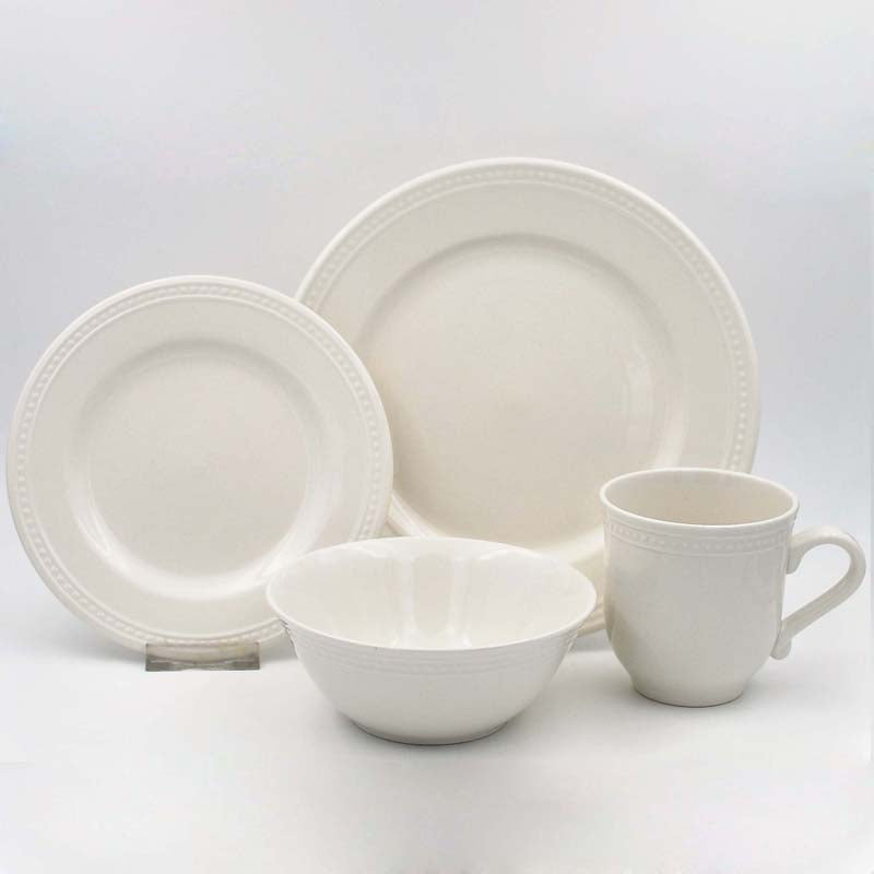 Dinner Set Stoneware Pearlina 16pc