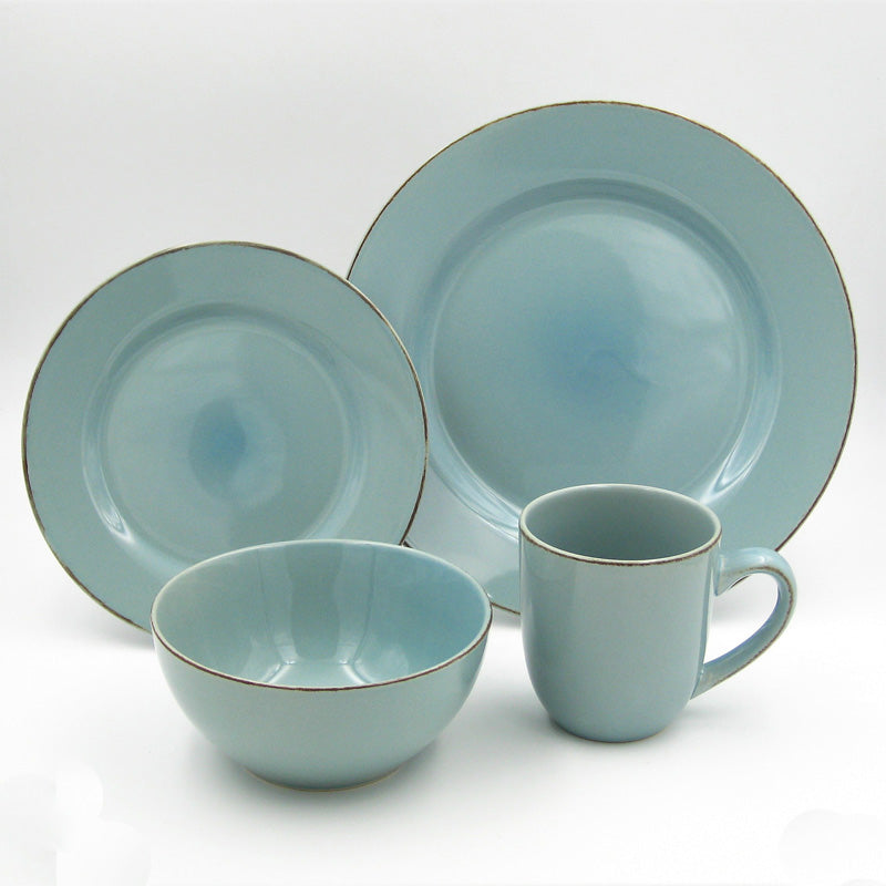 Dinner Set Stoneware Sonoma Haze 16pc