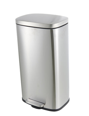Stainless Steel Step-On Containers 30L/50L