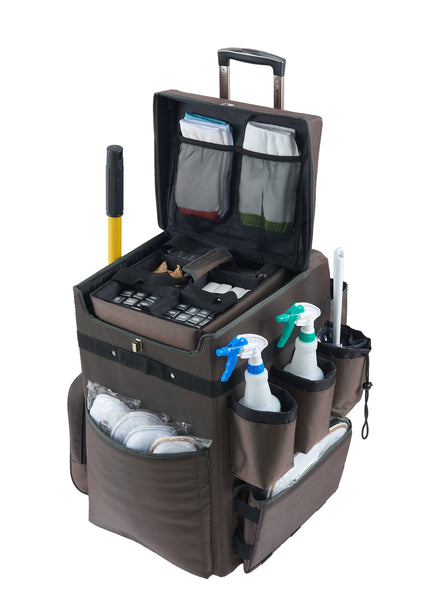 Housekeeping Trolley with Tool Basket