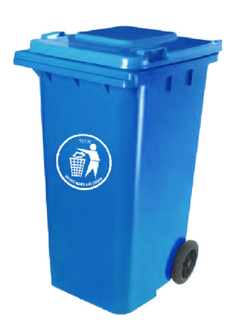 120L Garbage Bin with Wheels