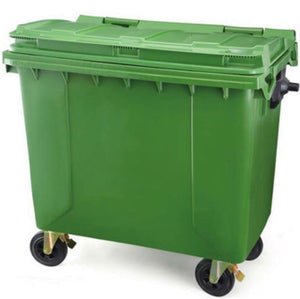 Garbage Bin with Wheels 660L/1100L