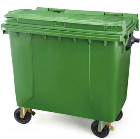 660L/1100L Garbage Bin with Wheels