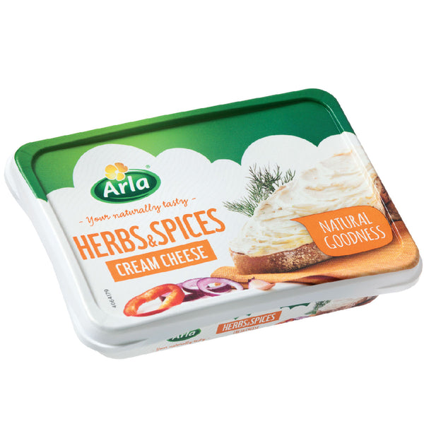 ARLA CREAM CHEESE HERBS & SPICES 150G