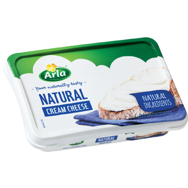 ARLA NATURAL CREAM CHEESE PLAIN 12x150g