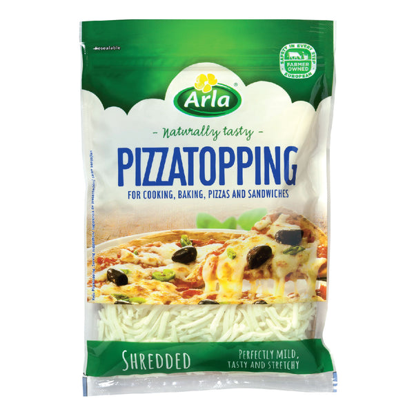 ARLA NATURAL PIZZATOPPING SHREDDED 12X175G
