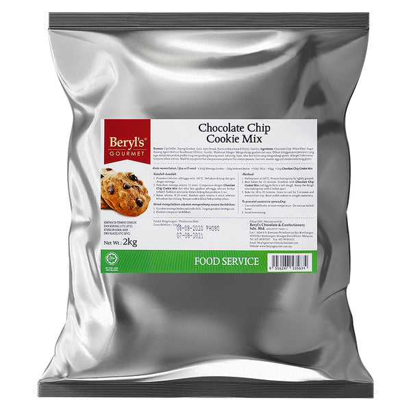 BERYL'S CHOCOLATE CHIP COOKIES MIX 2KGX3