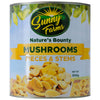 SUNNY FARMS NATURE'S BOUNTY PIECES & STEMS MUSHROOM 2840GX6