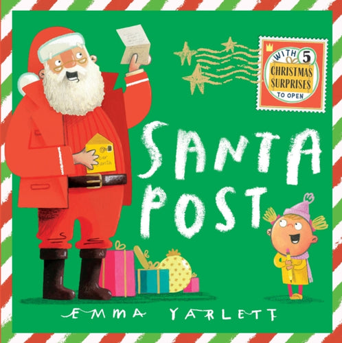 Santa Post by Emma Yarlett