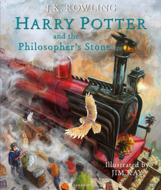 Harry Potter and the Philosopher's Stone : Illustrated Edition
