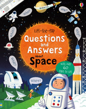 Load image into Gallery viewer, Lift-The-Flap Questions and Answers About Space by Katie Daynes