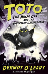 Toto the Ninja Cat by Dermot O'Leary