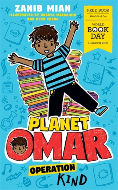 Planet Omar: Operation Kind : World Book Day 2021