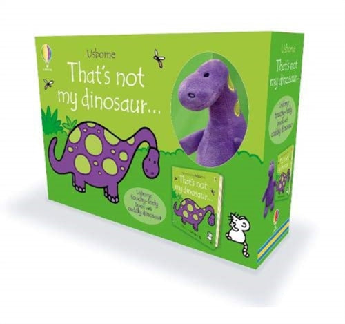 That's not my dinosaur... Book and Plush by Usborne