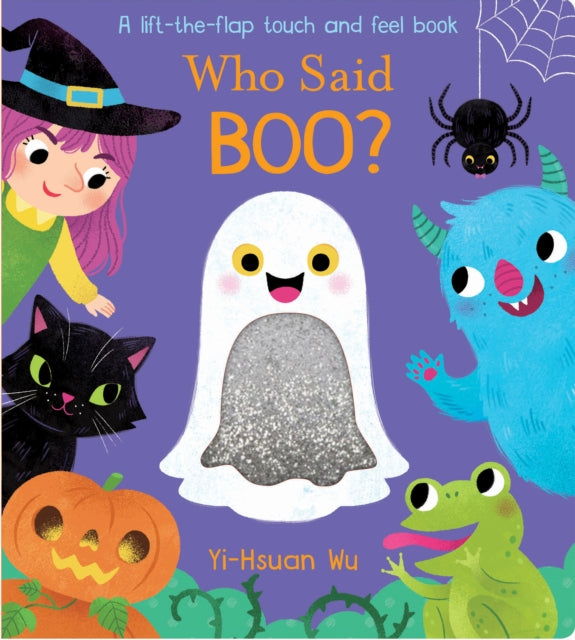 Who said Boo? by Little Tiger Books