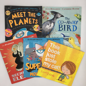 Parties Bundle: 5 Paperback Picture Books