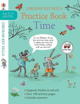 Time Practice Book Ages 8-9