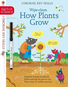 Wipe-Clean How Plants Grow Ages 5-6