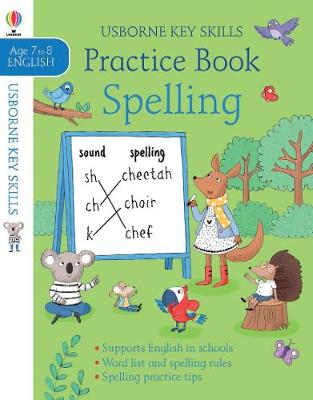 Spelling Practice Book Ages 7-8