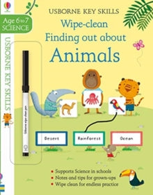 Wipe-Clean Finding Out About Animals Ages 8-9