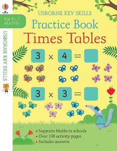 Times Tables Practice Book Ages 6-7