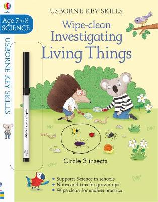 Wipe-Clean Investigating Living Things Ages 7-8