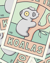 Load image into Gallery viewer, Save The Koalas Printable Poster