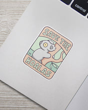 Load image into Gallery viewer, Save the Koalas Sticker Pack