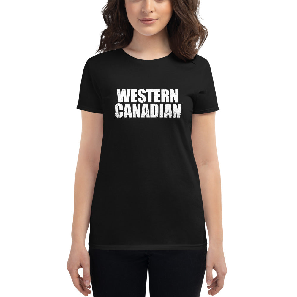 Women's Short Sleeve Western Canadian T-Shirt