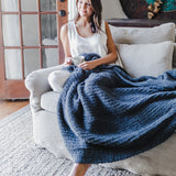 COZYCHIC RIBBED THROW BLANKET